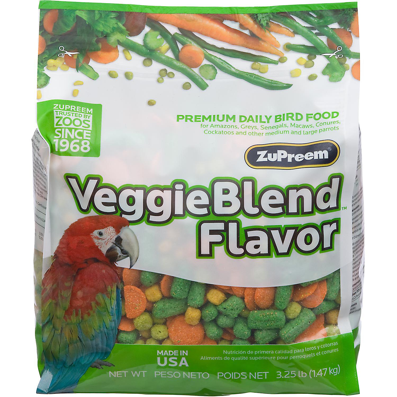 ZuPreem AvianMaintenance VeggieBlend Premium Bird Diet for