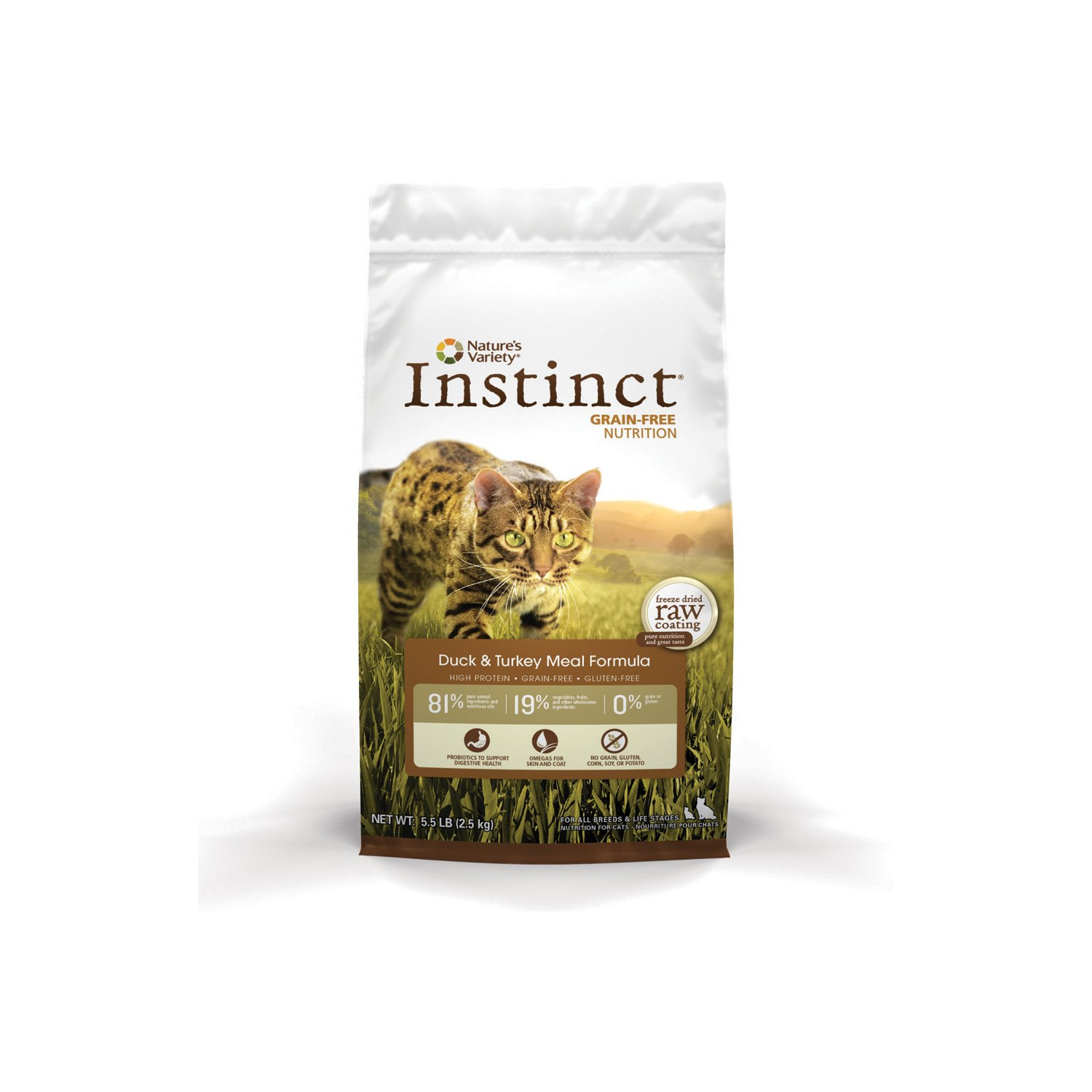 Nature's Variety Instinct Grain-Free Duck and Turkey Meal Cat Food