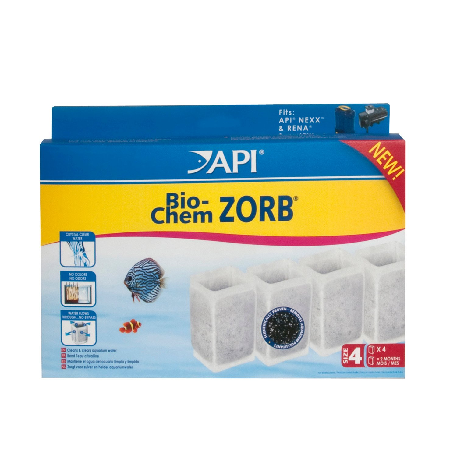 API Bio Chem Zorb Size 4 Filter Cartridge