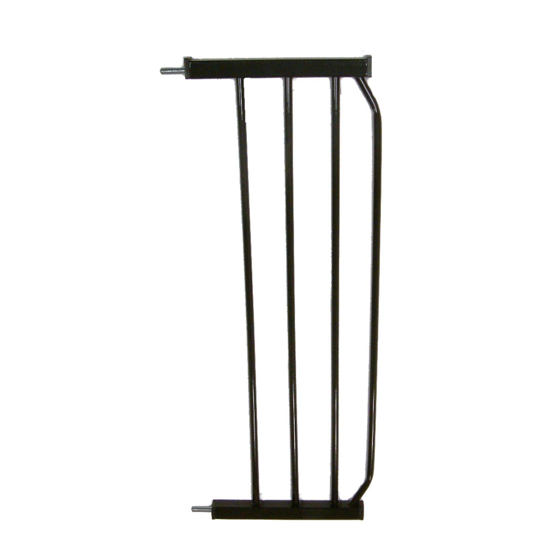 "Cardinal Gates Black Auto-Lock Pressure Pet Gate 10"" Extension"