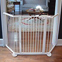 Cardinal Gates White VersaGate Pet Gate