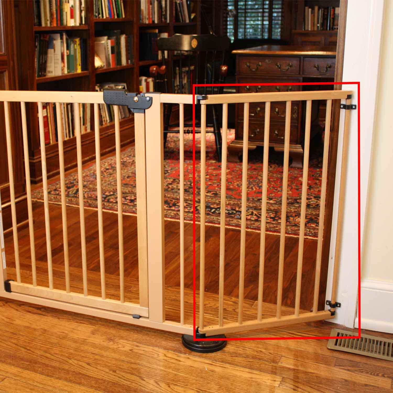 "Cardinal Gates Wood 20"" VersaGate Pet Gate Extension"
