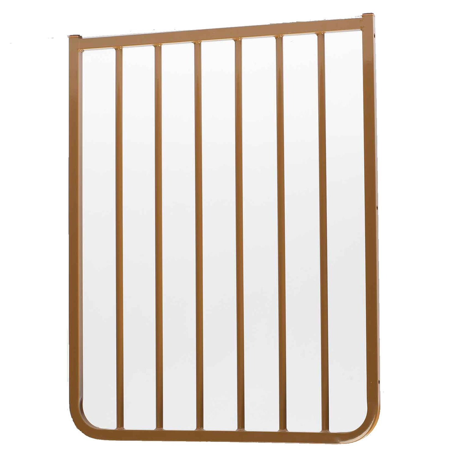 "Cardinal Gates Stairway Special Outdoor 21 3/4"" Gate Extension in Brown"