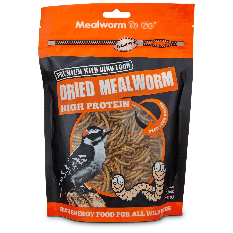 Unipet Dried Mealworms Wild Bird Food