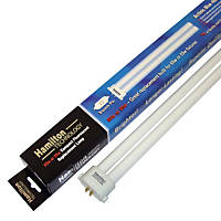 Hamilton Technology Compact Actinic Royal Blue 460nm Square Pin Aquarium Lamp, 55/65 Watts