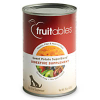 Fruitables Sweet Potato SuperBlend Digestive Supplement for Dogs & Cats