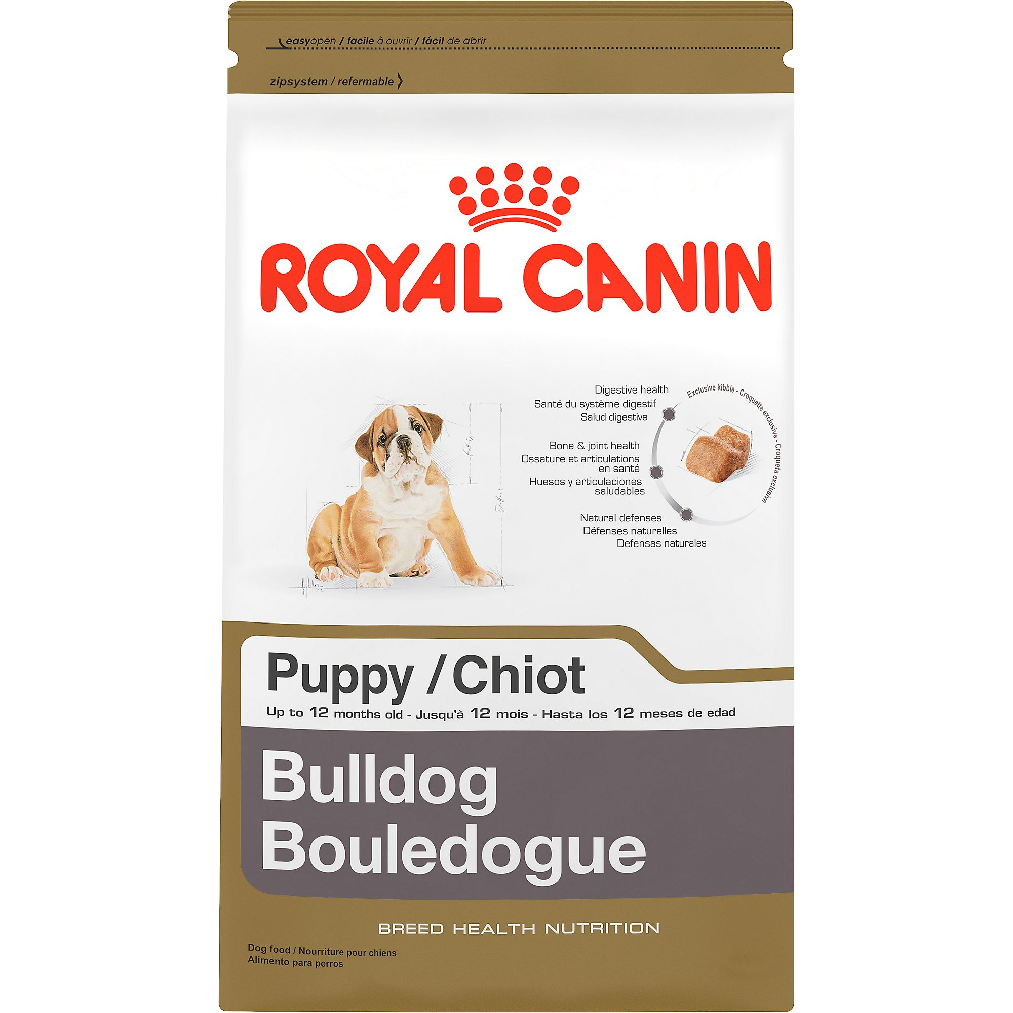 royal canin breed health nutrition bulldog puppy food petco. Black Bedroom Furniture Sets. Home Design Ideas