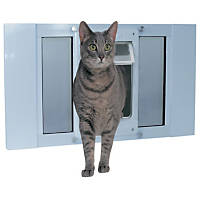 Perfect Pet by Ideal Chubby-Kat Sash Window Door