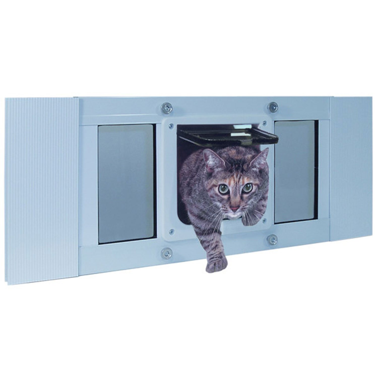 Perfect Pet by Ideal Cat Flap Sash Window Cat Door