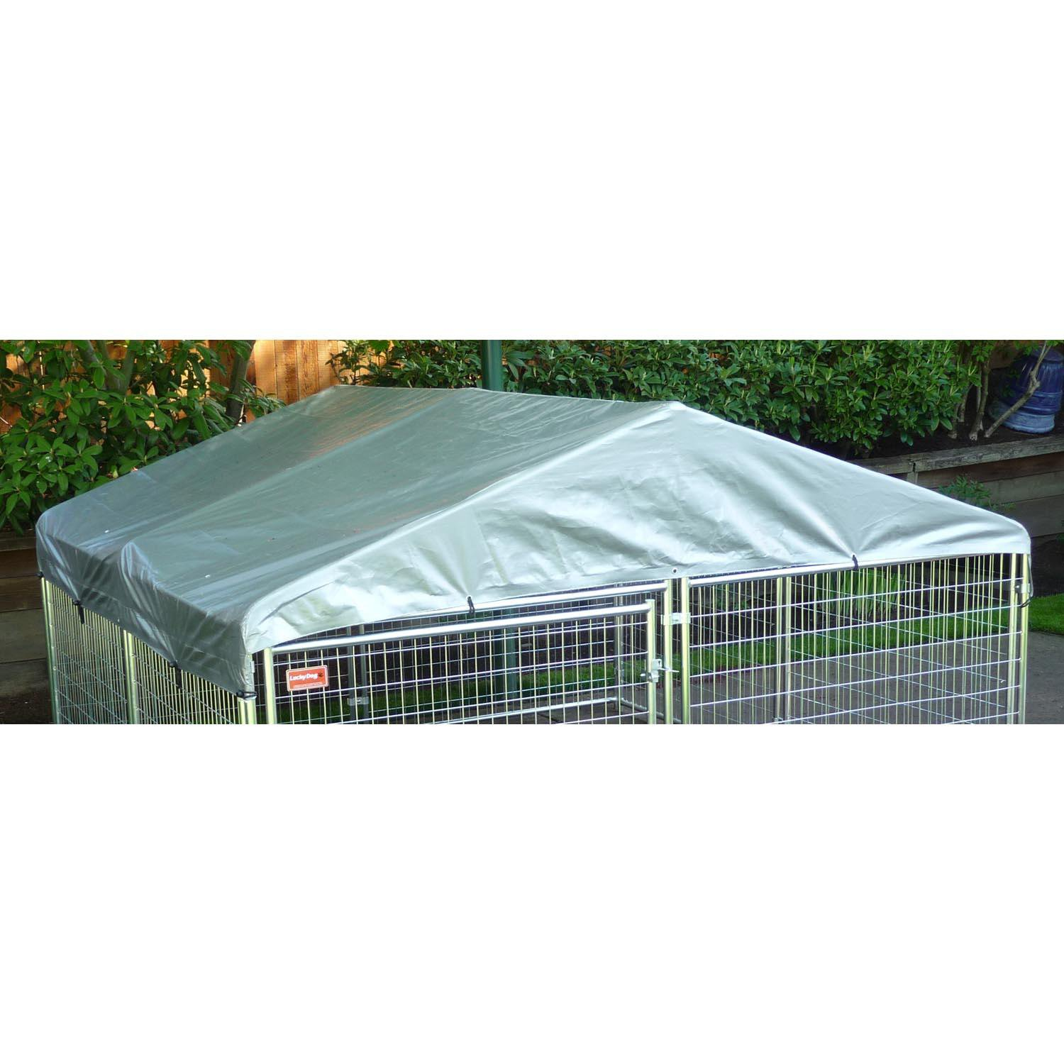 Lucky Dog Weatherguard Kennel Cover with Frame