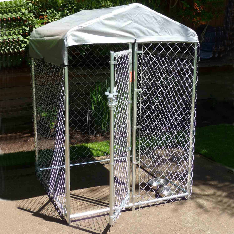 Lucky Dog Hi-Rise Box Kennel