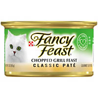 Fancy Feast Gourmet Canned Cat Food, Chopped Grill Feast