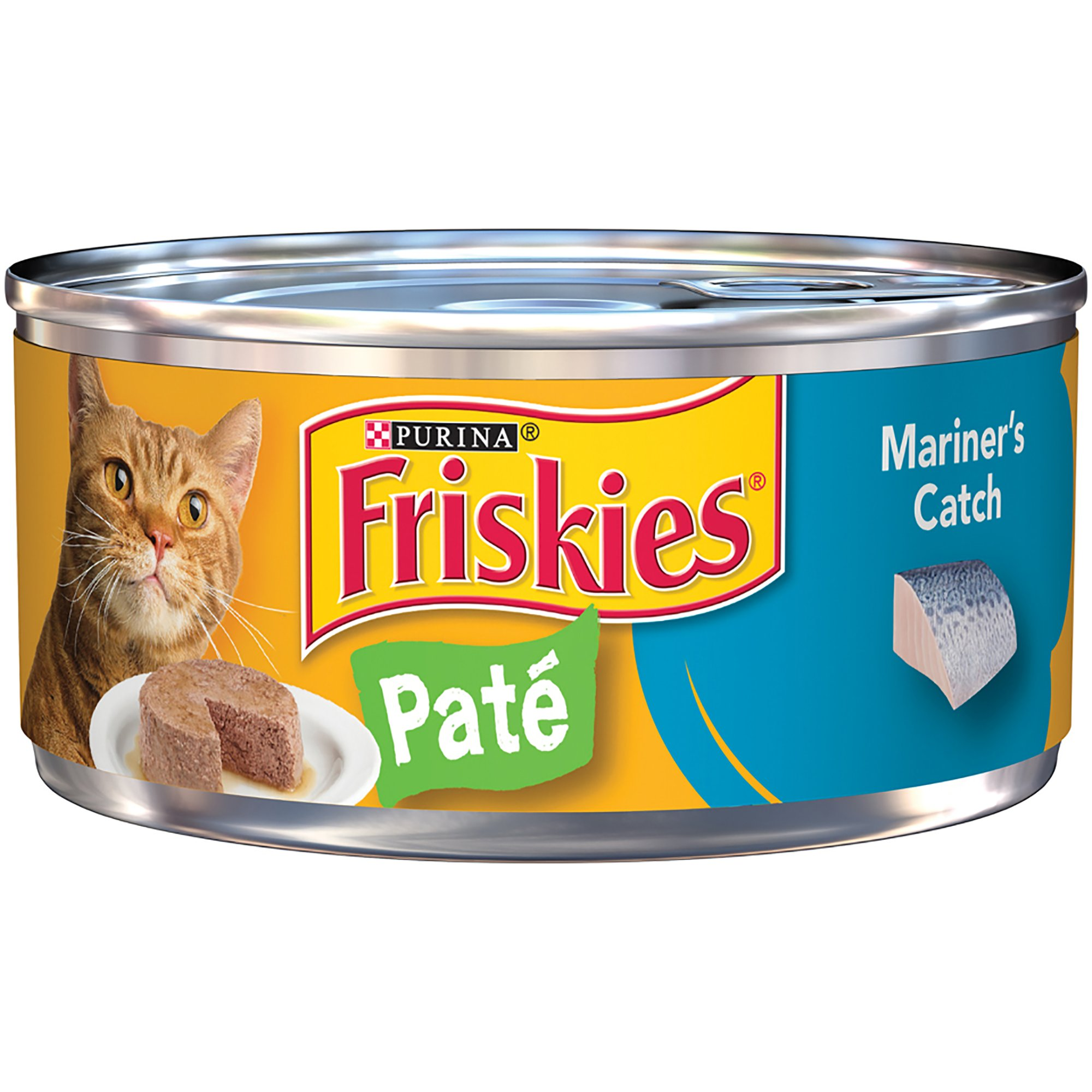 Friskies Mariner's Catch Fish Canned Cat Food