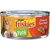 Friskies Chicken & Tuna Dinner Canned Cat Food