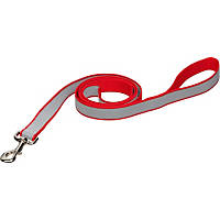 Coastal Pet Lazer Brite Personalized Reflective Dog Leash in Red, 5/8' Width