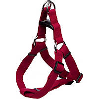 Coastal Pet New Earth Adjustable Personalized Soy Comfort Wrap Dog Harness in Cranberry