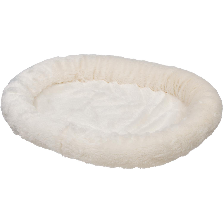 Petco Ultra Soft Oval Donut Cat Bed in Cream