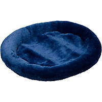 Petco Ultra Soft Oval Donut Cat Bed in Denim Blue