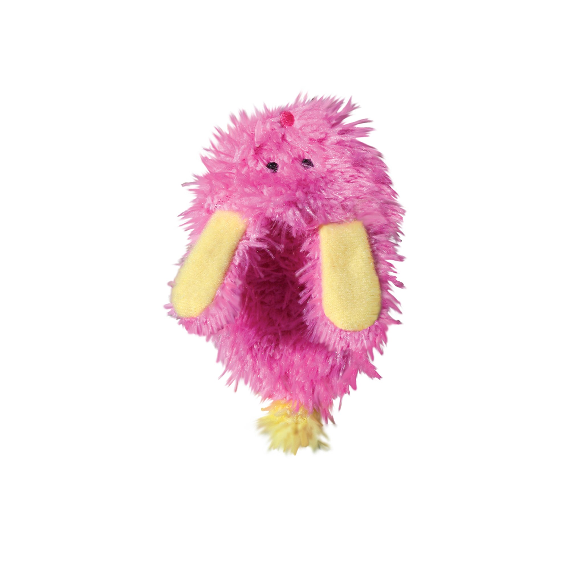KONG Refillables Fuzzy Slipper Catnip Cat Toy