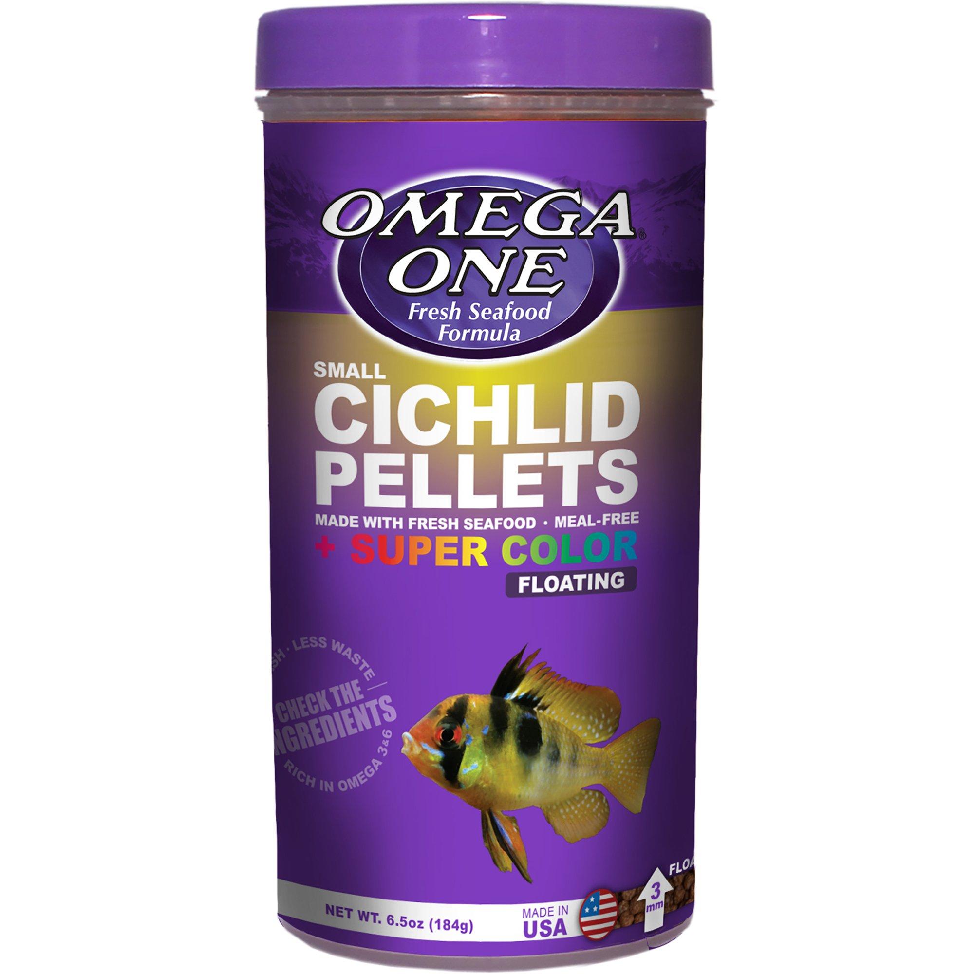 Omega One Floating Cichlid Pellets