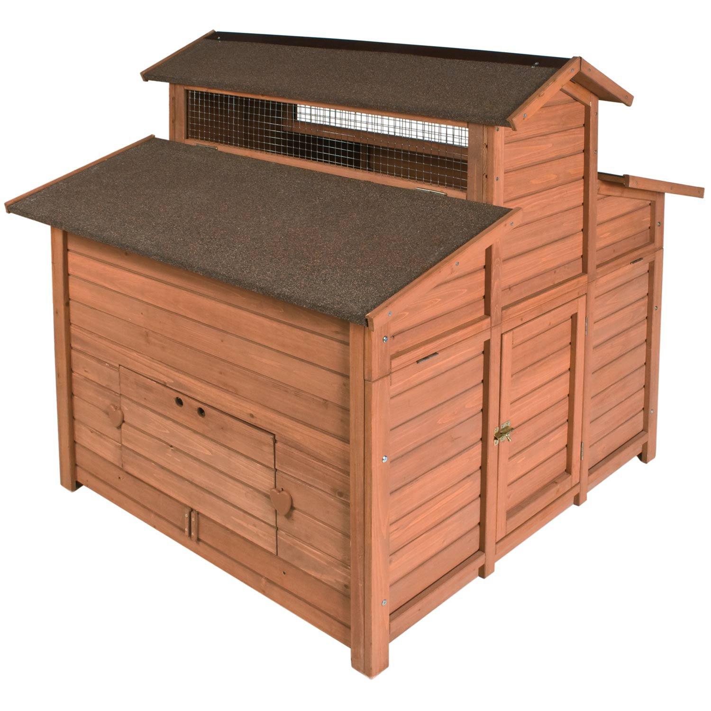 WARE Premium + Chick-N-Barn Chicken Hutch