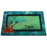 Drymate Tree Kitty Personalized Pet Placemat