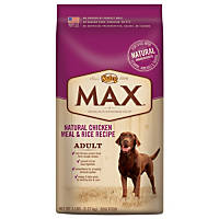 Nutro MAX Natural Chicken Meal & Rice Adult Dog Food