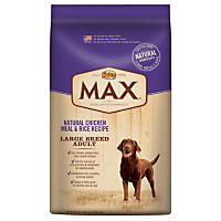 Nutro MAX Natural Chicken Meal & Rice Recipe Adult Food