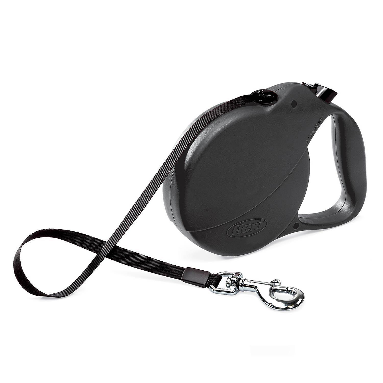 Flexi Explore Retractable Dog Leash In Black Large