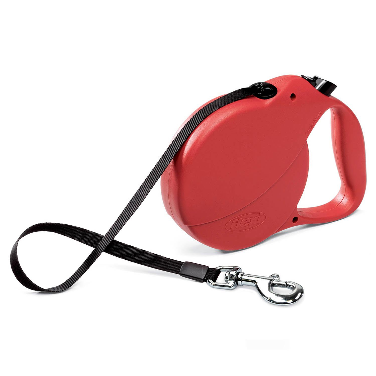 Flexi Explore Retractable Dog Leash in Red
