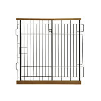 Richell Expandable Pet Pen Divider Panel in Autumn Matte