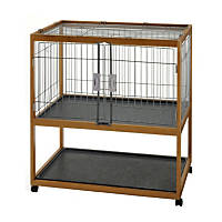 Richell Mobile Critter Condo with Trays