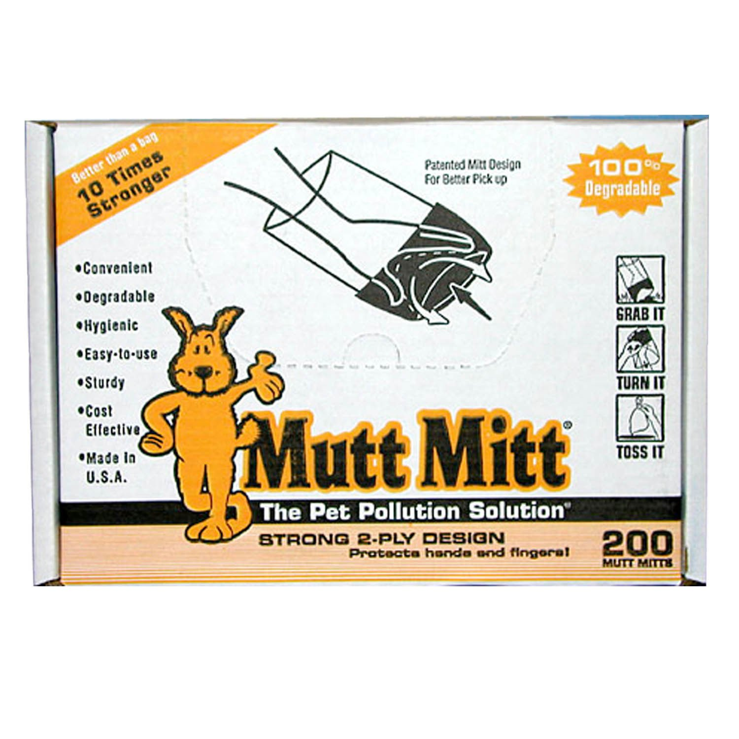 Mutt Mitt Disposable Waste Pick Up Bags