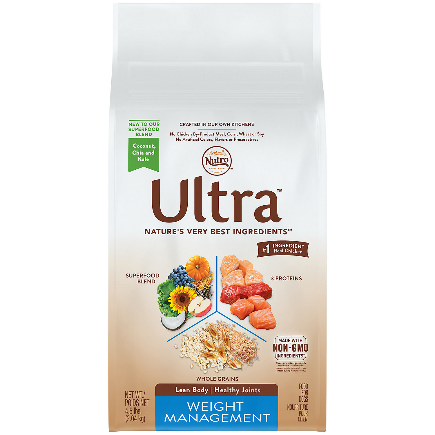 Nutro Ultra Small Breed Senior Dry Dog Food  Pound