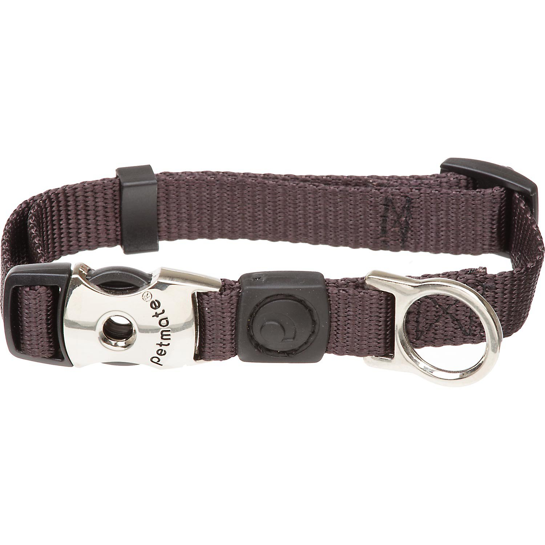 Aspen Pet by Petmate Deluxe Signature Nylon Coal Dog Collar