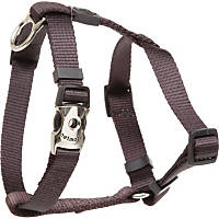 Aspen Pet by Petmate Deluxe Signature Coal Single Ply Nylon Harness