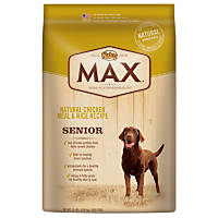 Nutro MAX Natural Chicken Meal & Rice Recipe Senior Dog Food