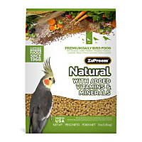 ZuPreem AvianMaintenance Natural Bird Diet for Cockatiels