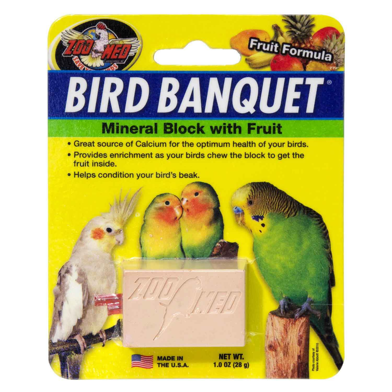 Zoo Med Fruit Bird Banquet Block