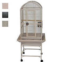 A&E Cage Company Classico Dometop Small Bird Cage in Black