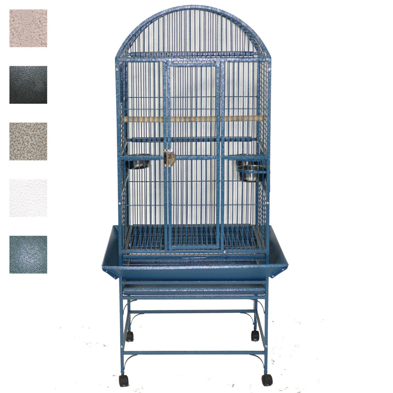 A&E Cage Company Classico Dometop Medium Bird Cage in Green