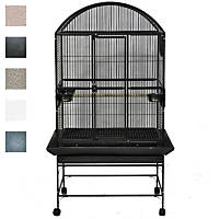 A&E Cage Company Palace Dometop Bird Cage in Platinum