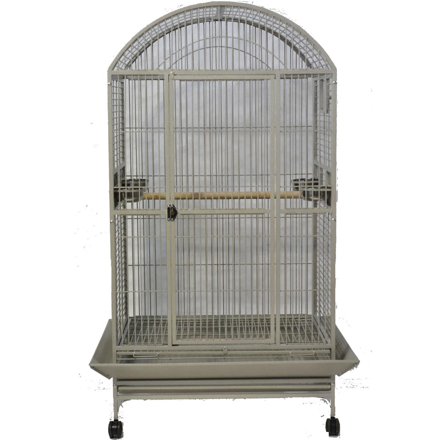 A&E Cage Company Stainless Steel Macaw Mansion Dometop Bird Cage