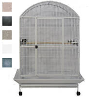 A&E Cage Company Black Macaw Mansion Enormous X-Large Dometop Bird Cage