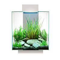 Fluval Edge Aquarium White 42 LED, 12 Gallon