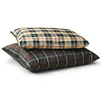 K&H Indoor/Outdoor Single-Seam Dog Bed in Tan Plaid