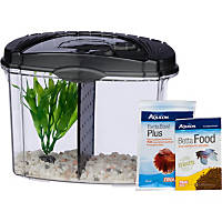 5 gallon fish tanks aquariums bowls with dimensions petco for Betta fish tanks petco