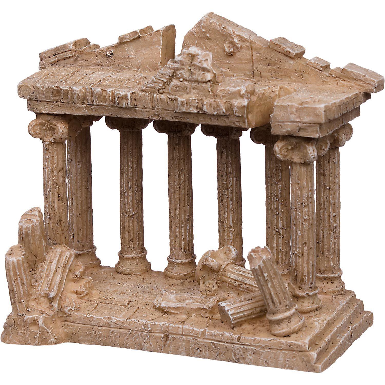 Petco Medium Greek Temple Aquarium Ornament Ruins Collection