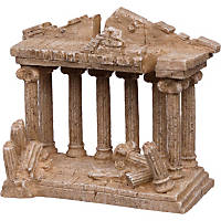 Petco Medium Greek Temple Aquarium Ornament Ruins Collection