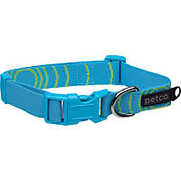Petco Adjustable Sport Dog Collar in Blue & Green